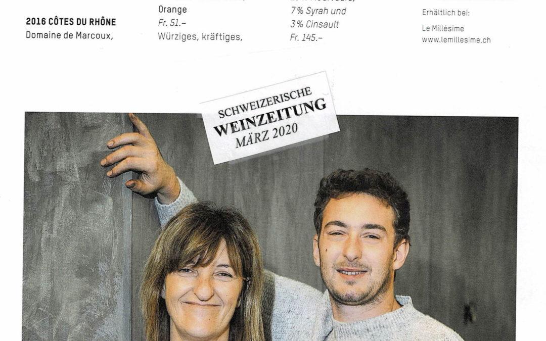 Schweizerische Weinzeitung Mars 2020