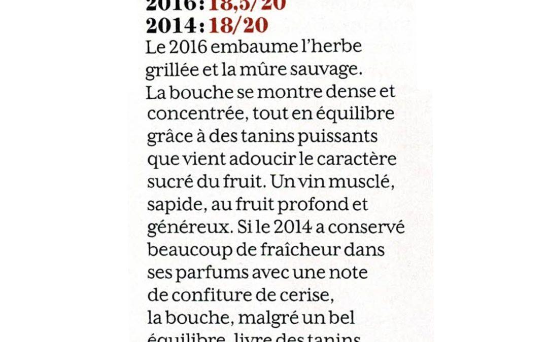 Revue du Vin de France – Comparatif Rouge 2014 – Rouge 2016