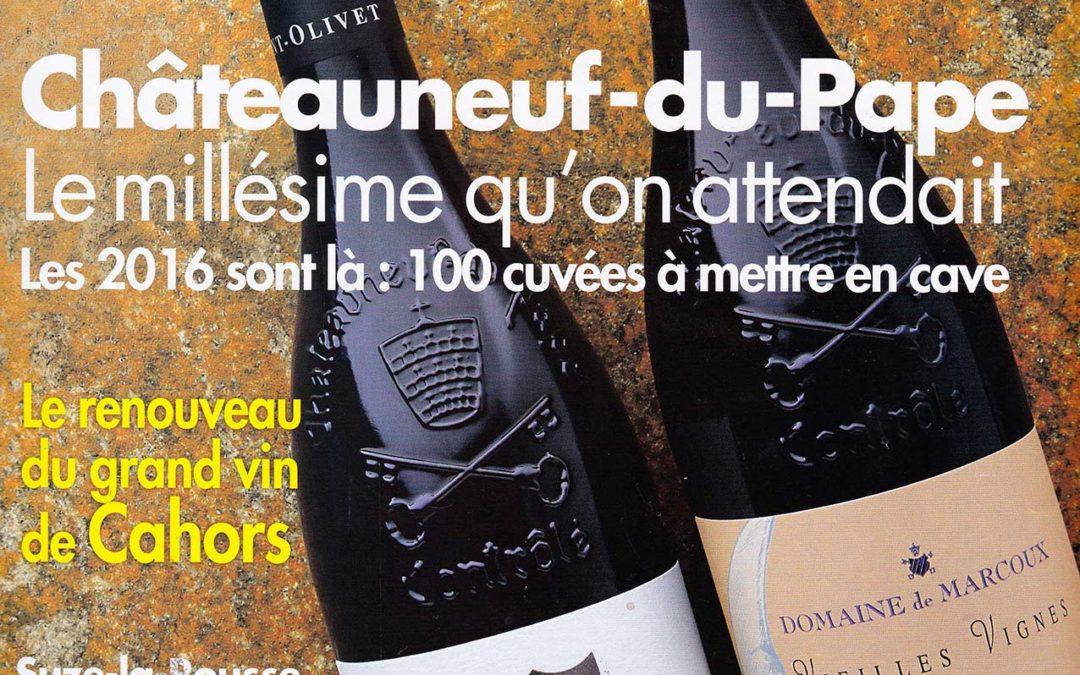 Revue du Vin de France – Millésime : 2018